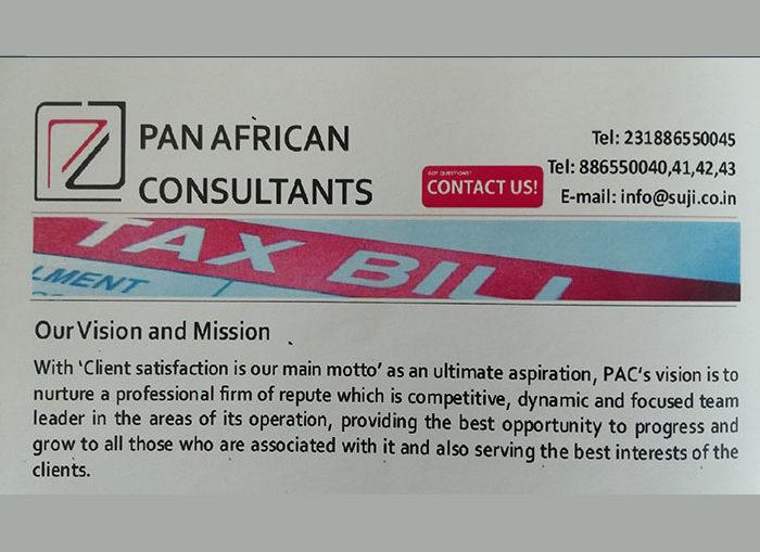 PAN AFRICAN CONSULTANTS